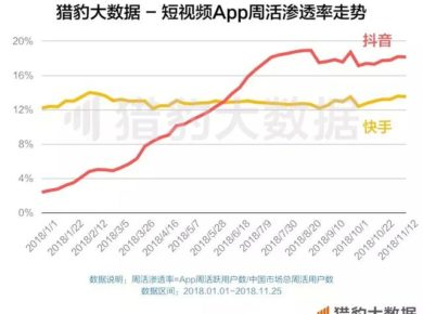 Chinese User Behavior: Short Video Platform Penetration Rates